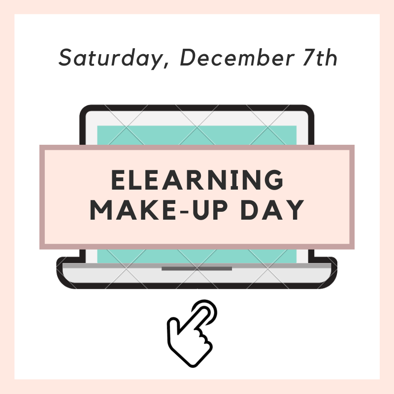 November 12th Make-Up Day